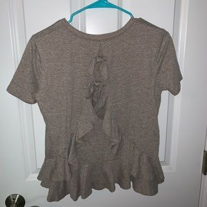 Altered state gray t-shirt blouse